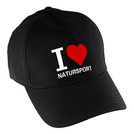 Gorra de béisbol de madera I Love Sport negro: Amazon.es: Deportes ...