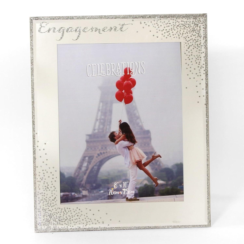 Celebration Gifts Feiern Verlobungsring Spiegel Glas Sparkle ...