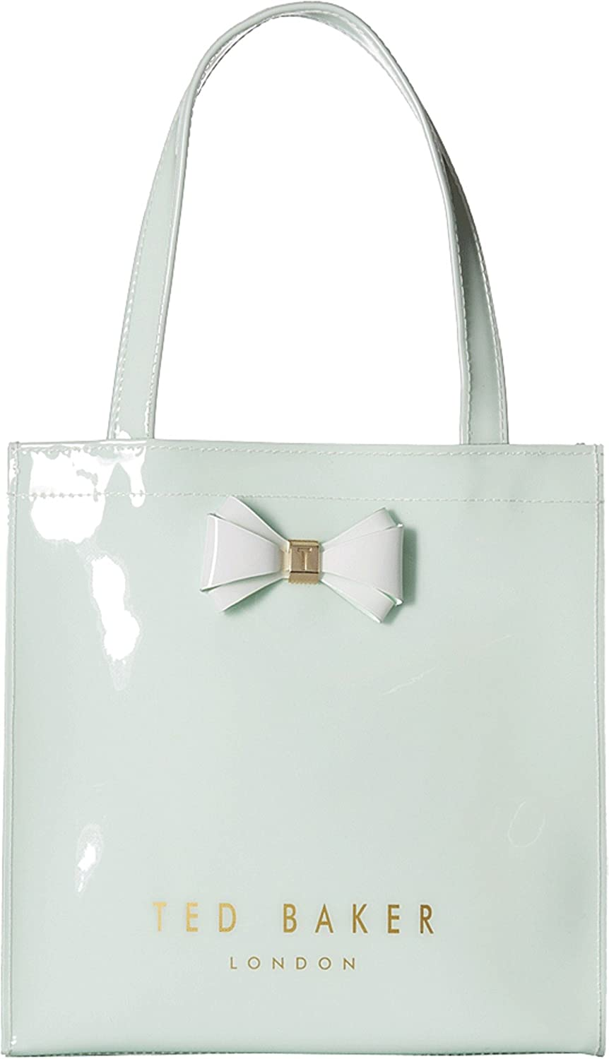 032a16a11769c4 Ted Baker London Women s Aracon Small Shopper Tote Bag (Light Green)   Amazon.in  Shoes   Handbags