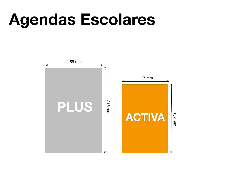 Jordi Labanda Agenda Escolar con espiral 2019 2020 Día Página Smile Español 117x182 mm