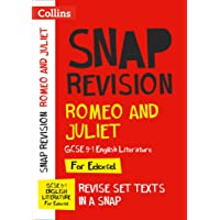 Romeo and Juliet: New Grade 9-1 GCSE English Literature Edexcel Text Guide (Collins GCSE 9-1 Snap Revision)