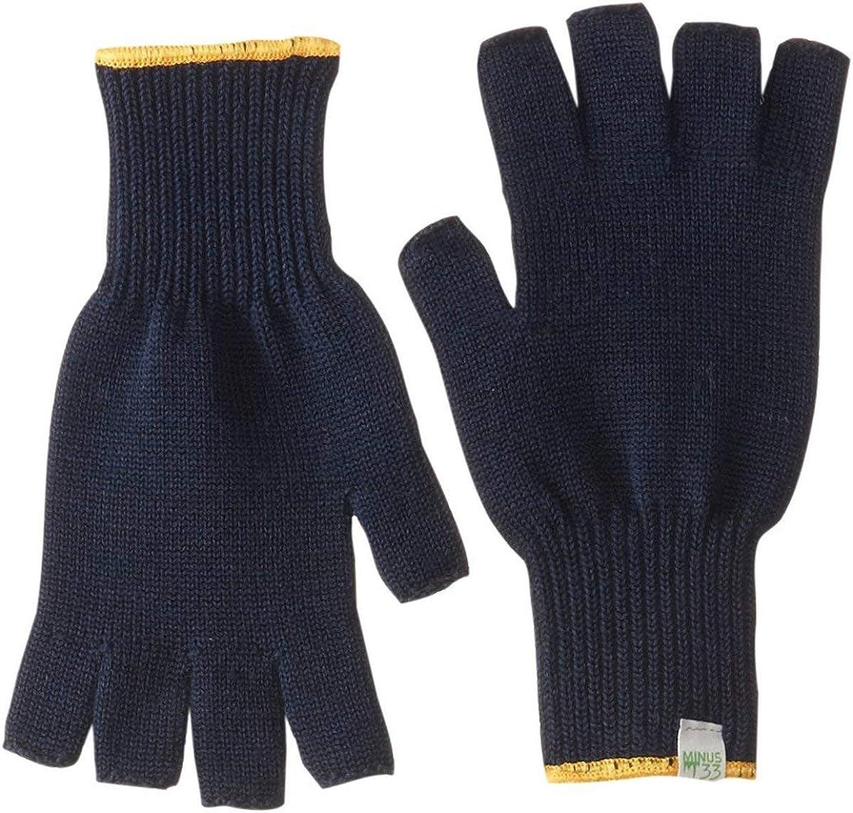 Minus33 Merino Wool 6610 Fingerless Glove Liner: Clothing