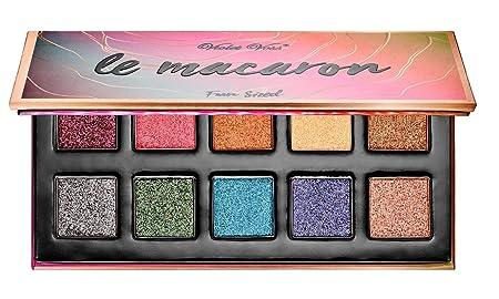 VIOLET VOSS Fun Sized Mini Eyeshadow Palette Le Macaron – metallic