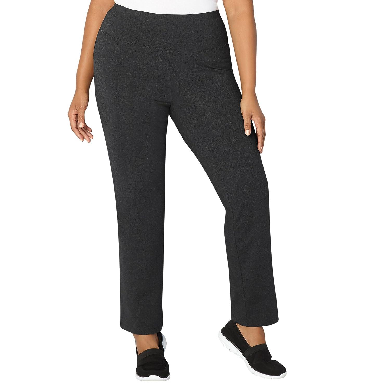 Avenue Women's Wide Waist Pima Cotton Pant 400314280