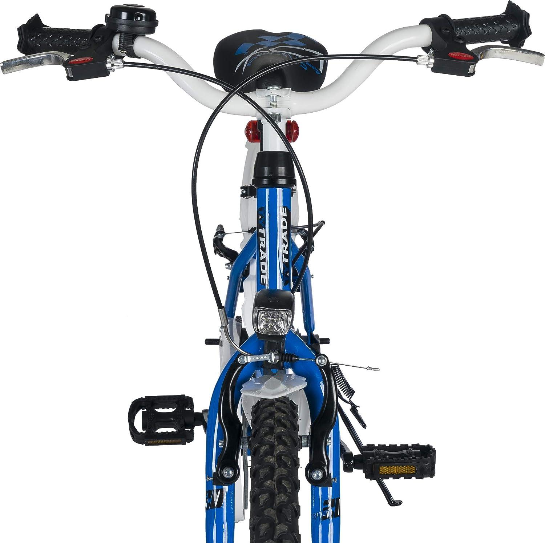 20 Zoll BMX Kinder Fahrrad Jungenfahrrad Jungen Rad KINDERFAHRRAD JUGENDFAHRRAD Kinderrad Bike R/ücktrittbremse Crazy BLAU TYT19-009