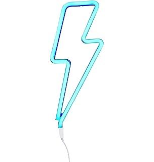 3c0acb22a A Little Lovely Company LTNE041 - Luces de neón con forma de rayo, color  azul