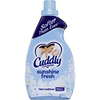 Cuddly Concentrate Fabric Softener Conditioner Sunshine Fresh Made in Australia, 1L (1224793)