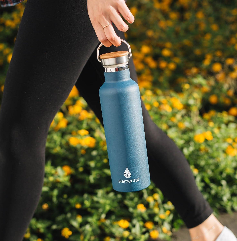 Amazon.com: Botella de agua de acero inoxidable Elemental de ...