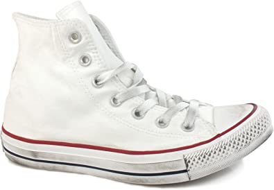 Converse All Star Hi Canvas Ltd, White Smoke | Graffitishop