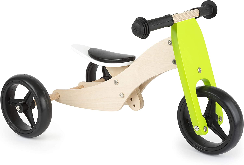 small foot company Triciclo 2 en 1 para Aprender a Andar