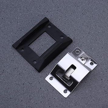 VORCOOL 1 Paar T-Style-Eingangst/ürverschluss Wohnmobil-T/ürhalter Edelstahl-Einstiegst/ürverschluss f/ür Wohnmobilanh/änger