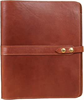 product image for Col. Littleton Full-Grain Leather No.19 Notebook | 3-Ring Binder | Made in USA