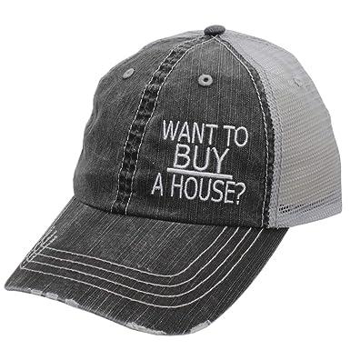 IGYS Want to Buy A House - Gorra de Mujer Estilo Camionero, Color ...