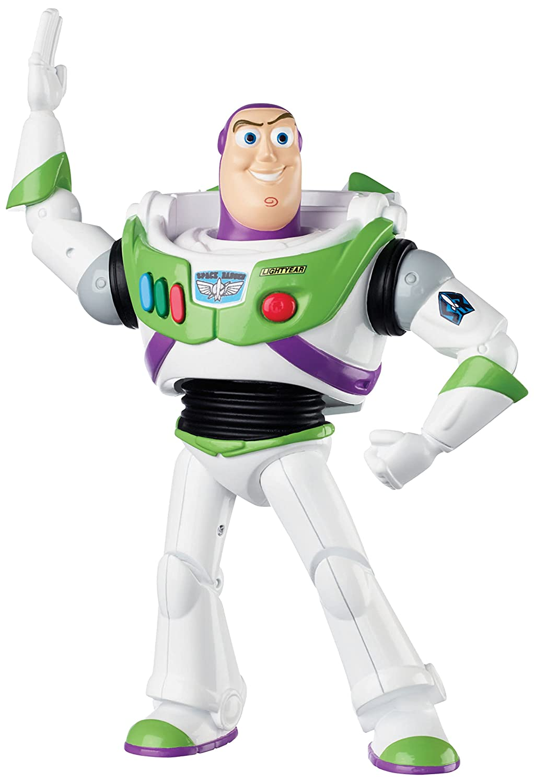 amazon com disney pixar toy story karate choppin buzz lightyear 6