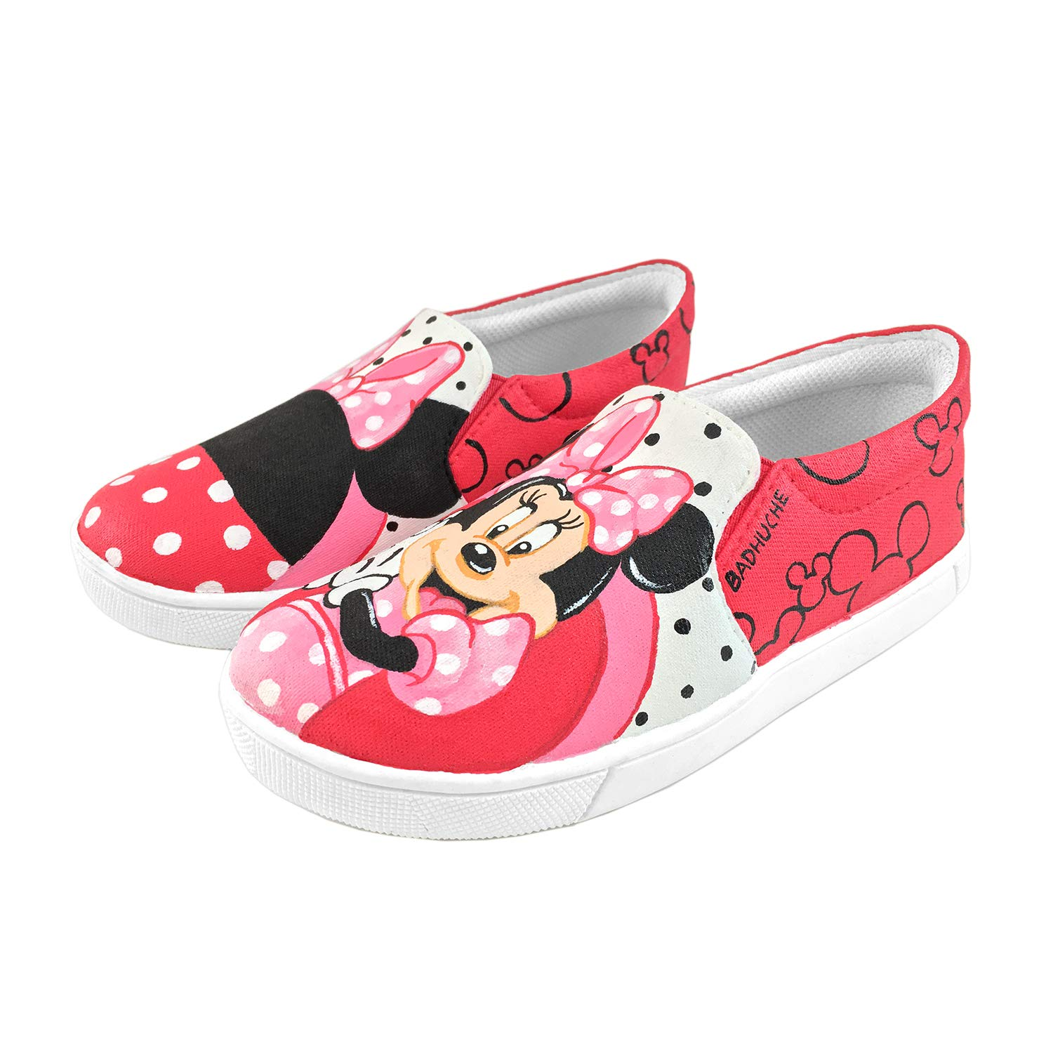 Girls-Pinky Mini Mickey Mouse Shoes
