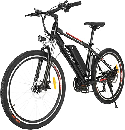 26/'/' Electric Bike Moutain Bicycle Foldable Cycling 21Speed 250W Pro Mens E-bike
