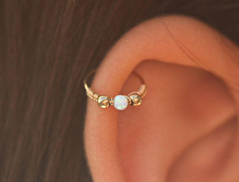 Amazon Com Piercing Earrings Gold Ear Piercing 24g Piercing