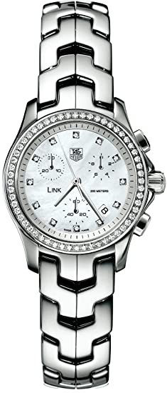 f3eaea410b5 Image Unavailable. Image not available for. Colour  TAG Heuer Women s  CJF1314.BA0580 Diamond Chronograph Watch