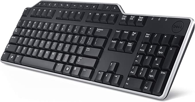 DELL KB-522 USB QWERTZ Negro Teclado – Teclados (USB, Universal, QWERTZ, PC/Server, Estándar, Derecho)