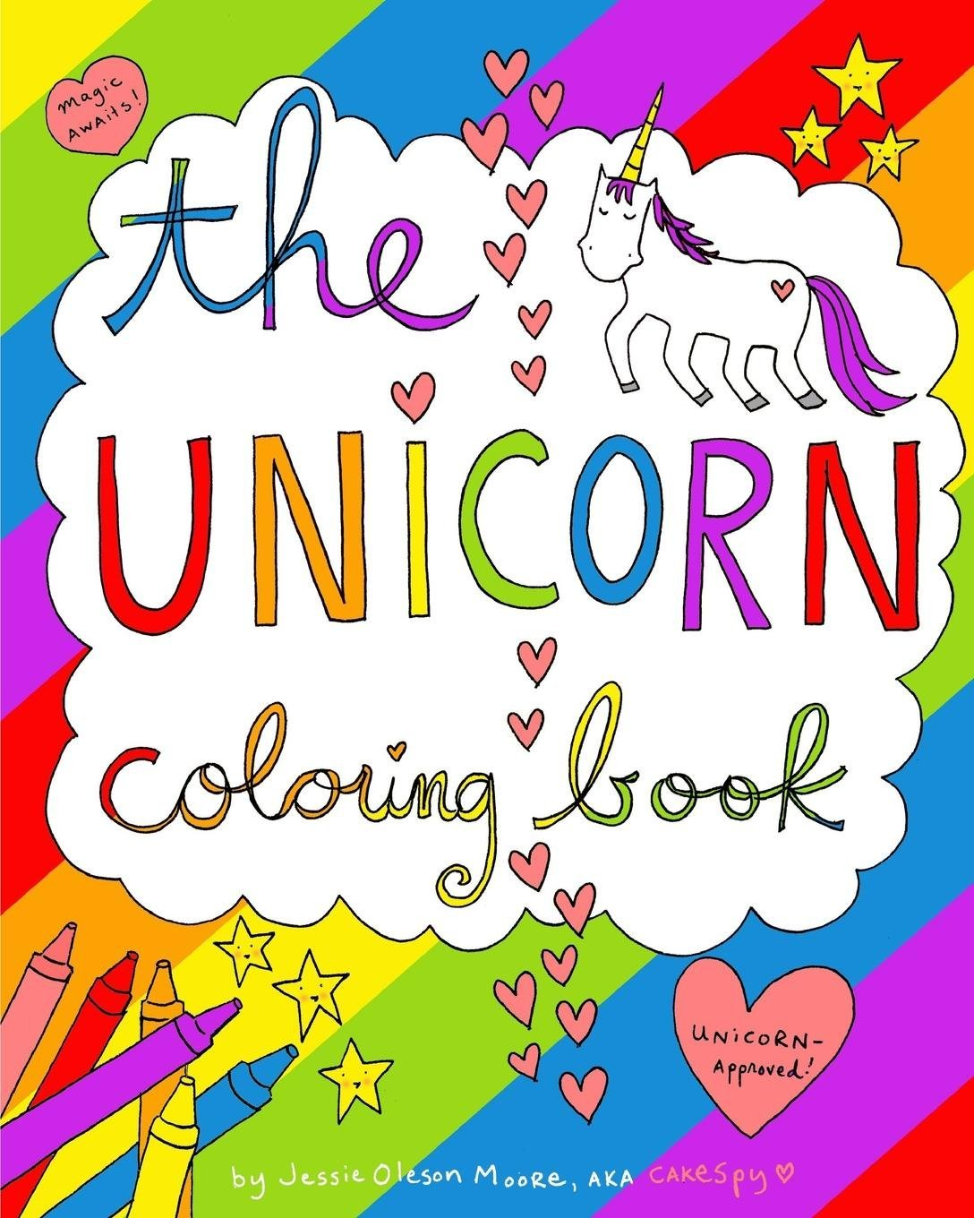 - Amazon.com: The Unicorn Coloring Book (9781364315597): Moore