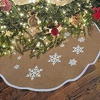 OurWarm yute base de árbol de Navidad 76cm