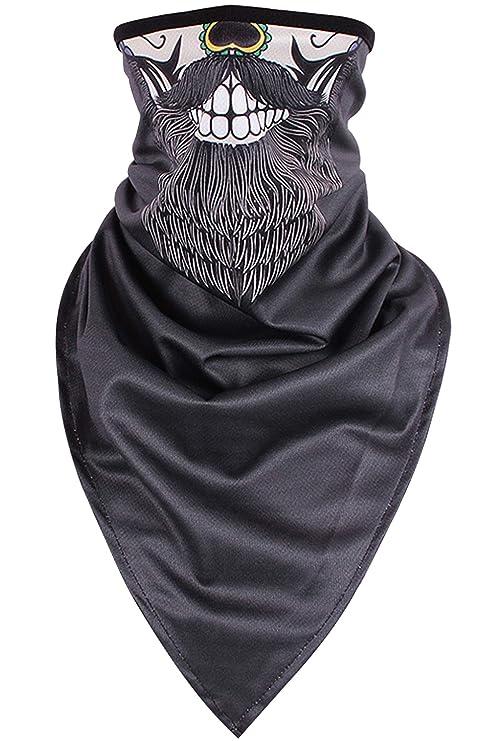Quick-Dry Half Masks KINGREE Print-16 Balaclava Ski Mask Motorcycle Helmets Liner Neck Gaiter
