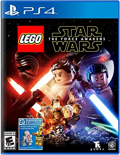Warner Bros LEGO Star Wars: The Force Awakens PS4 - Juego (PlayStation 4, Acción / Aventura, 28/06/2016, E10 + (Everyone 10 +), ENG, Básico): Amazon.es: Videojuegos