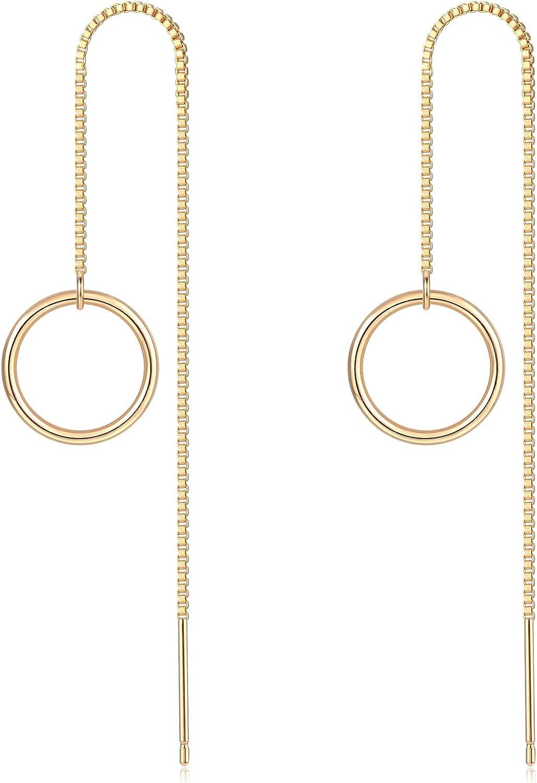 Gold Dangle Drop Earrings...