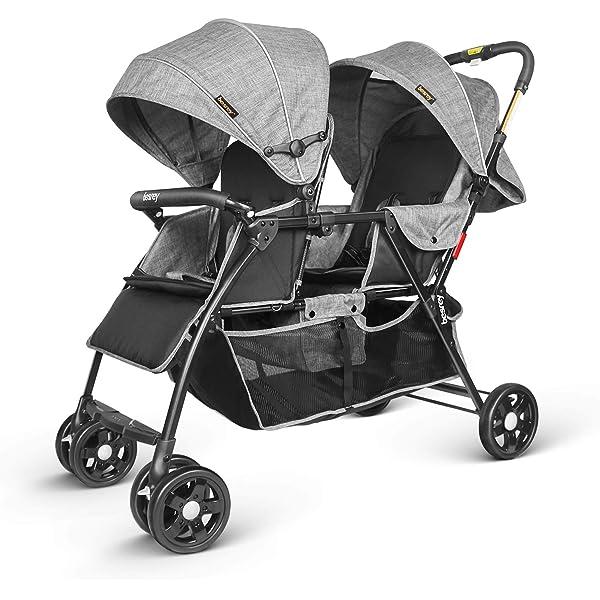 Blue Festnight Baby Stroller Baby Pushchair Baby Buggy Pram for Newborn Toddler Lightweight Foldable Baby Infant Travel Pushchair For Children From Birth to 15kg