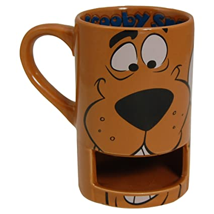 Scooby Doo Biscuit Gift Boxed Mug - Tea Coffee Cup with Biscuit ...