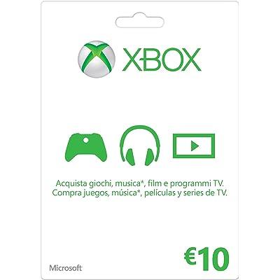 Microsoft - Xbox Live Tarjeta Regalo 10 Euro (Xbox)