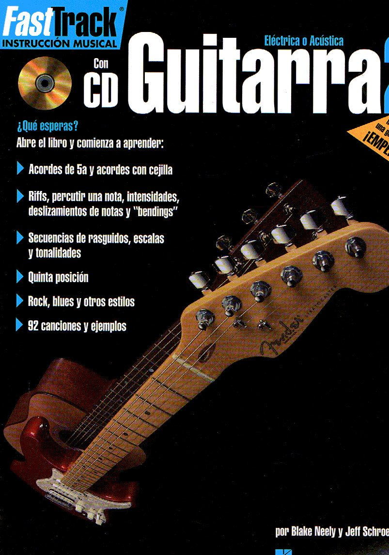 FAST TRACK - Metodo para Guitarra 2º (Inc.CD): Hal leonard: 9780634051302: Amazon.com: Books
