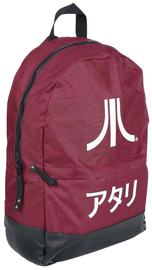 factory authentic 30c76 22c6e Amazon.com  Difuzed Atari Backpack Japanese Logo Borse  Sports   Outdoors