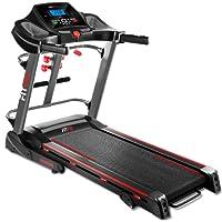 Fitfiu Fitness HSM-MT20, Tapis-roulant Pieghevole con Cardiofrequenzimetro, 2000 W, Massimo 20 Km/h Unisex – Adulto, Nero, M