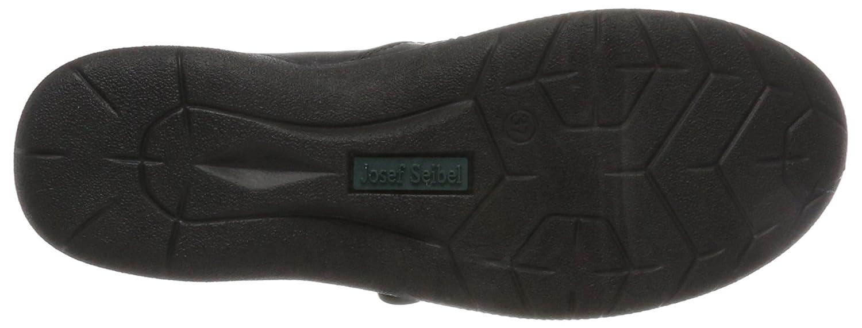 Josef Seibel Women Flat Slipper Fabienne 27 Black, Schwarz 92465905//600
