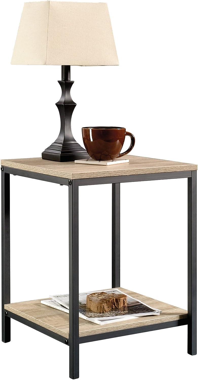 Sauder North Avenue Sofa Table, Charter Oak Finish & North Avenue Side Table, Charter Oak Finish