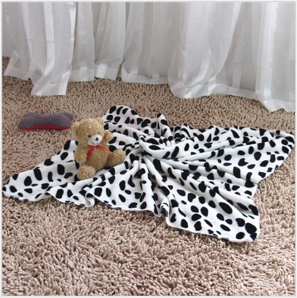 60cm40cm Aoligei Pet Blanket Kennel Mat Four Seasons Warm Coral Velvet cat Dog Blanket air Conditioner Quilt Perfect for Sunbathing mat, Nap&Sleeping Bed