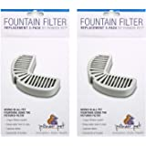 Pioneer Pet Filters for Ceramic and Stainless Steel Fountains, (6 Filters)