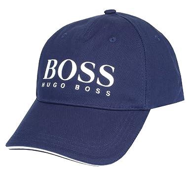BOSS Hugo Gorra Béisbol/Gorra De Golf Gorra 3 Logo Grande Azul,