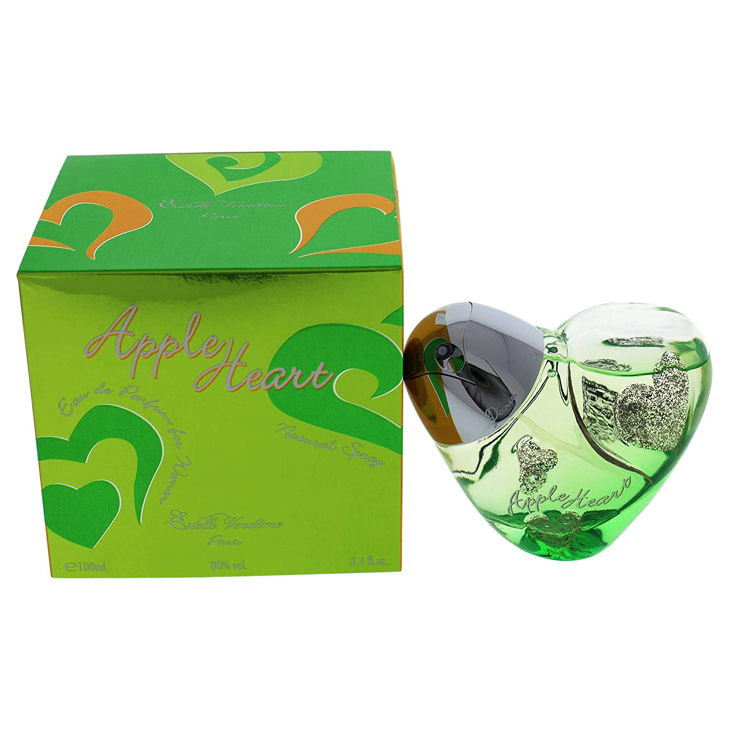 Apple Heart 3.4 oz. Eau De Parfum Spray for Women by Estelle Vendome