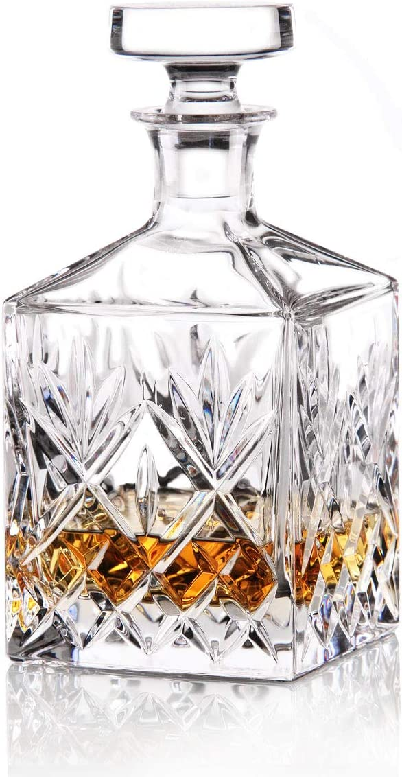 Waterford Crystal Huntley Square Spirit Decanter