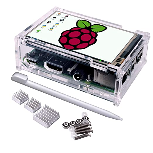7 opinioni per Touch Screen for Raspberry Pi 3 Kit, Quimat 3.5 Inch Touch Screen Monitor