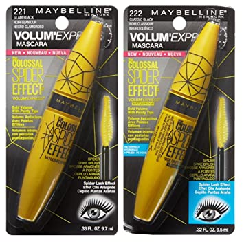Maybelline Colossal Spider Effect Mascara Bundle (2 items)