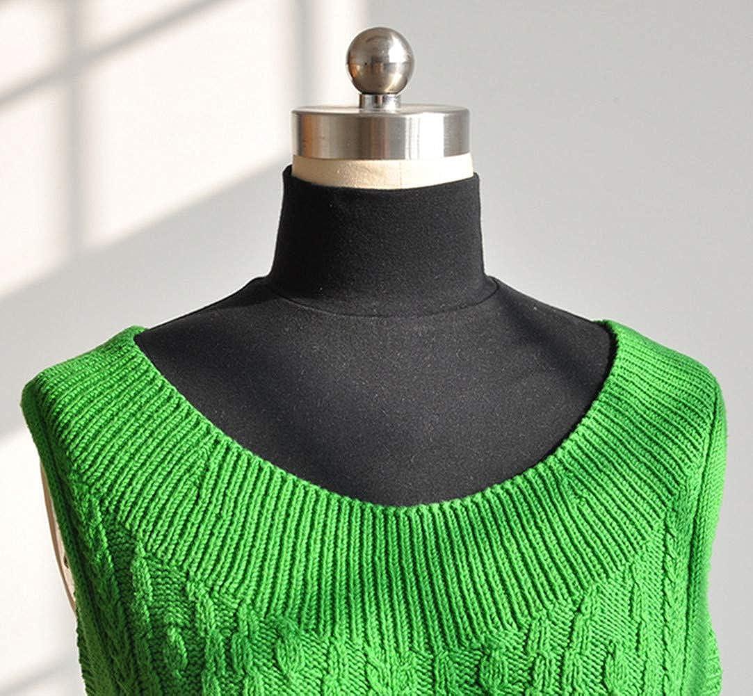 Thicker Womens False Fake Warm Turtleneck Dickey Collar Detachable Artificial Knit Collar