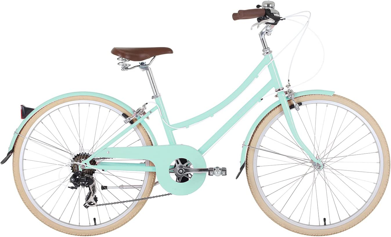 BOBBIN Brownie Bicicleta Urbana, Mujer, Turquesa (st Ives Green ...