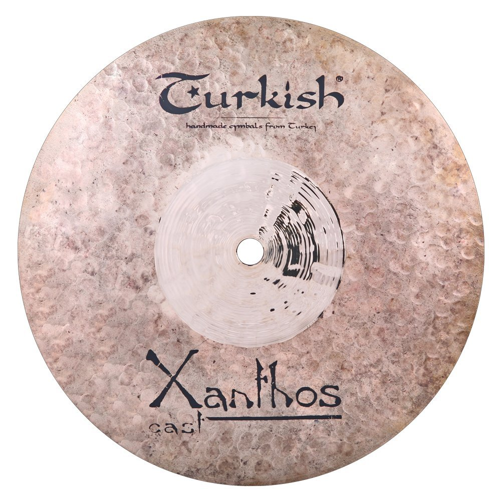 Turkish Cymbals Rock Series 10-inch Xanthos Cast Splash * XC-SP10   B073XSTMPW