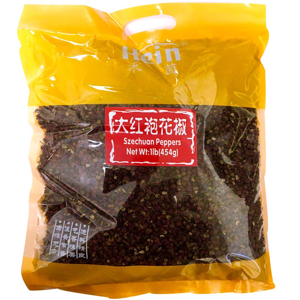 Spicy Element Red Sichuan Pepper Hua jiao-Top Quality, 16 oz (1 Pack)