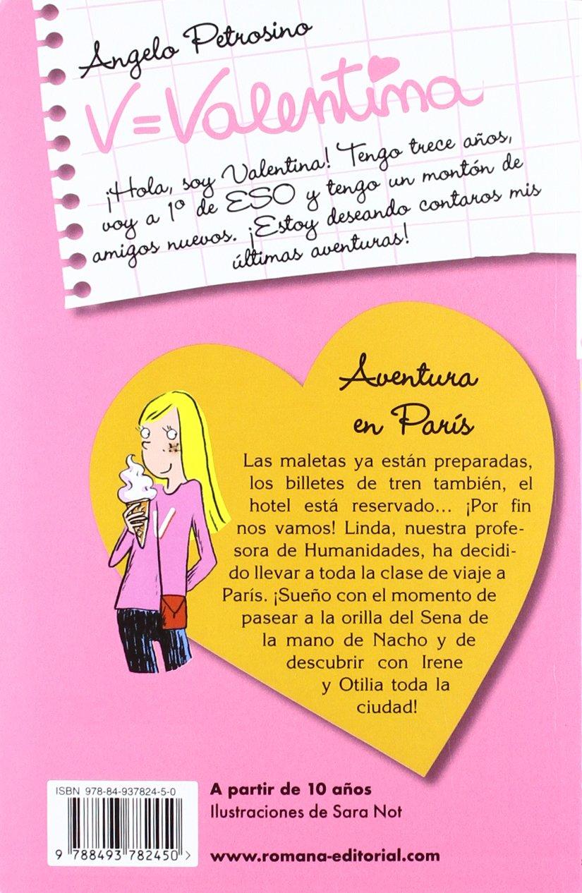 Valentina aventura en París: Angelo Petrosino: 9788493782450: Amazon.com: Books