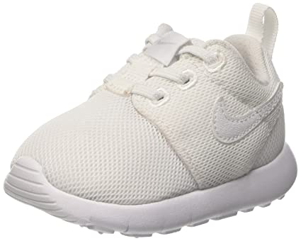 1f4f1ee6e7 Nike Roshe One White/White-Wolf Grey (Infant/Toddler) (7 M US Toddler):  Amazon.in: Baby