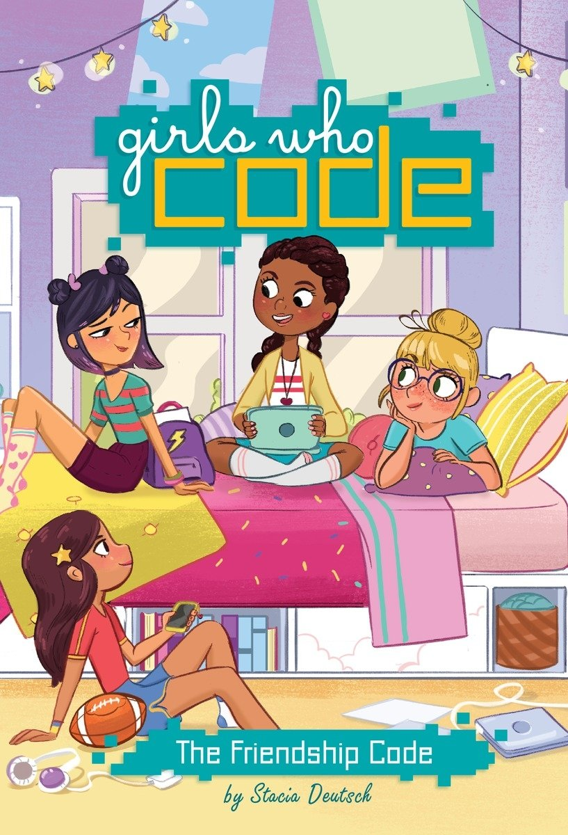 The Friendship Code #1 (Girls Who Code): Deutsch, Stacia, Saujani, Reshma:  9780399542510: Amazon.com: Books